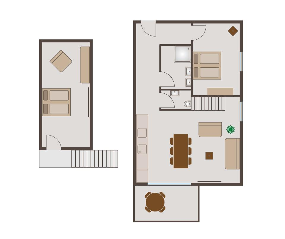 Suite 2 - Floor plan